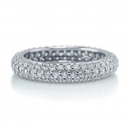 Eternity Pave Ring