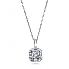 Art Deco Sparkle Necklace