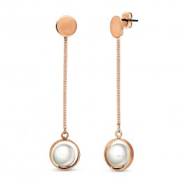 Sleek Pearl Earrings
