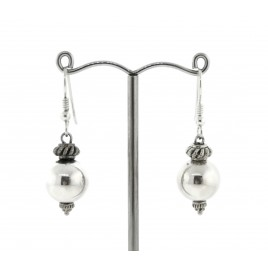 Sterling Silver Ball Earrings
