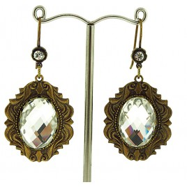 Regal Crystal Earrings